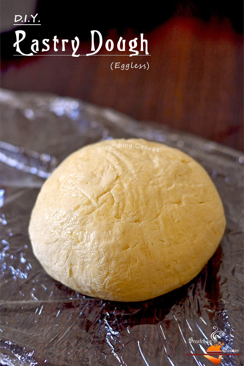 D.I.Y. Eggless Pastry Dough