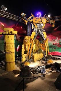"""Exposição internacional """"Transformers"""" chega ao ParkShoppingCampoGrande"""