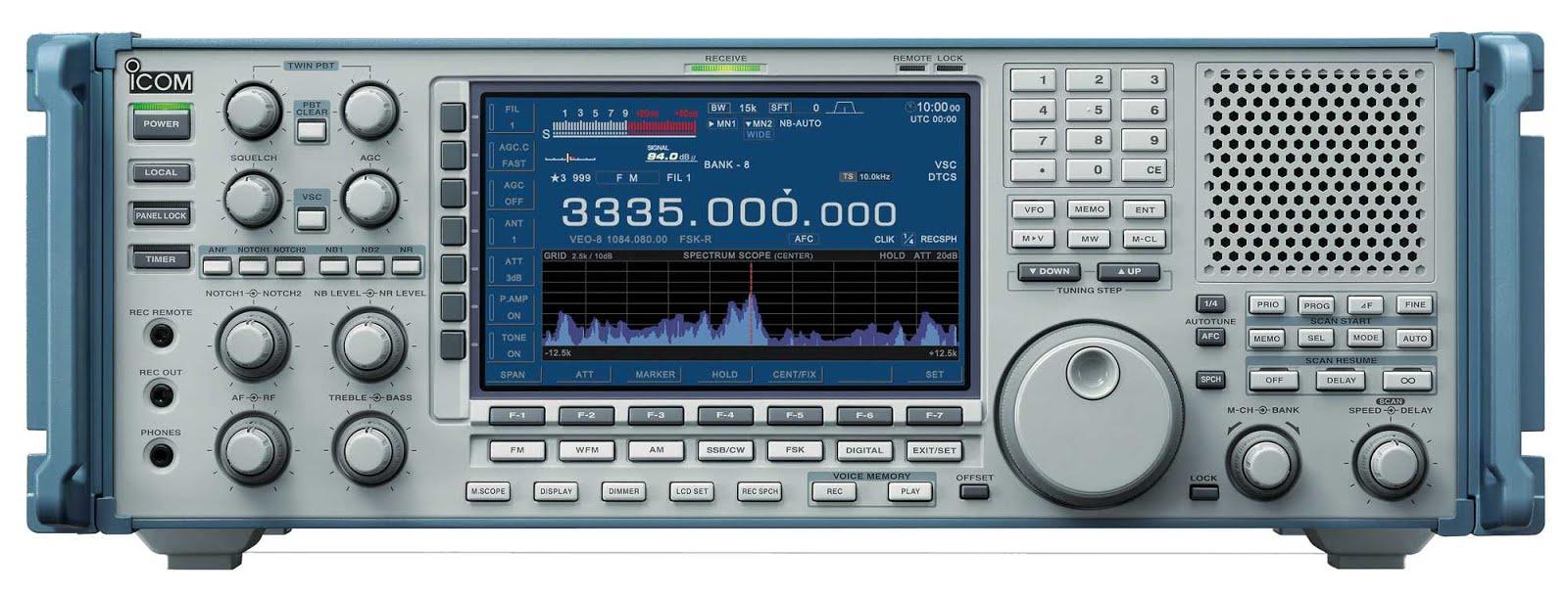 HF RADIO RECEIVER