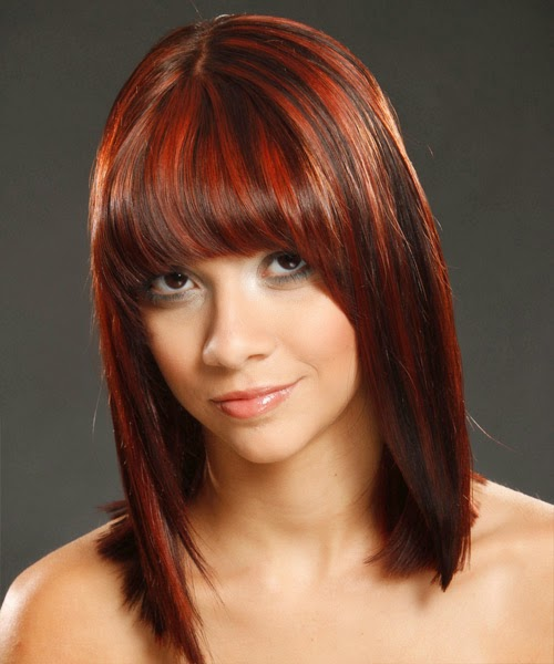 Medium-Hairstyle31-With-Red-Highlights-For-Brown-Hair