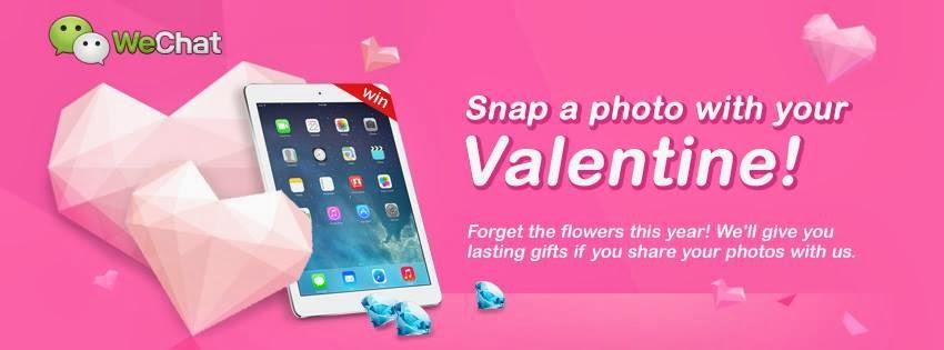 WeChat 2014 Valentine's Day Promo