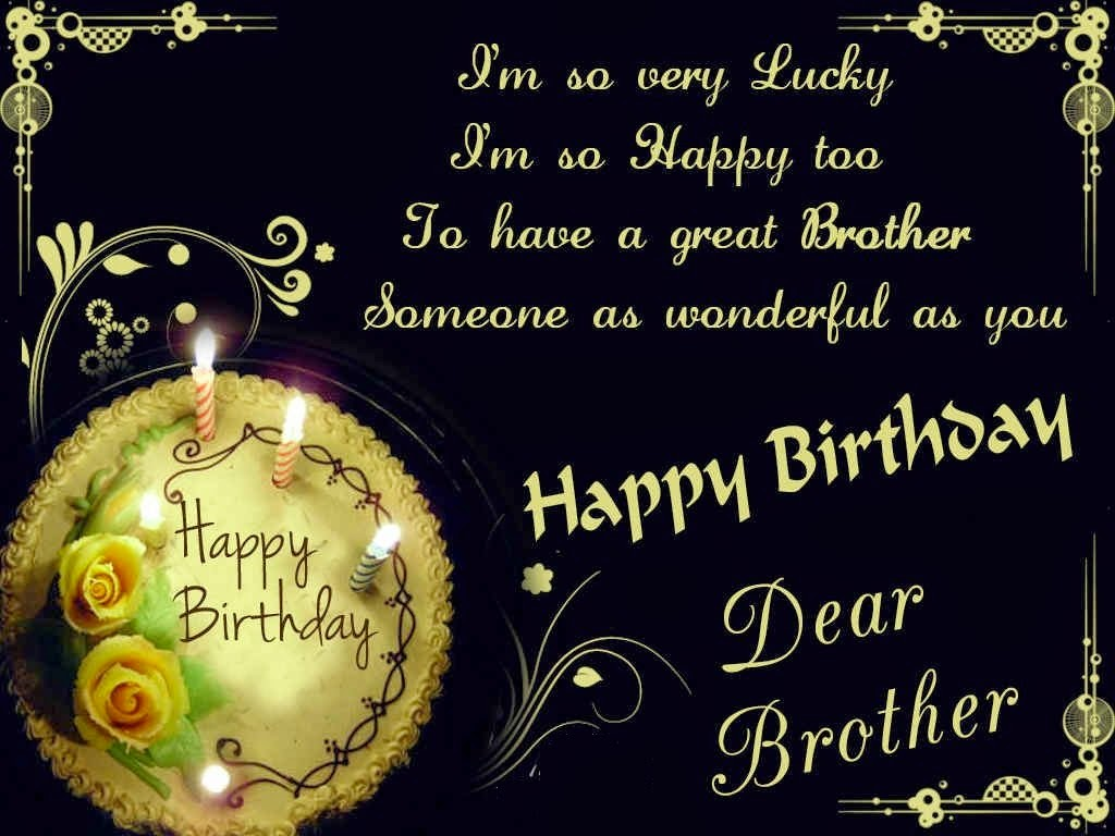 Birthday Cards Brother From Sister ~ Hd birthday wallpaper happy brother
