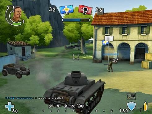 تحميل لعبة الحرب للكمبيوتر Battlefield Heroes مجانا