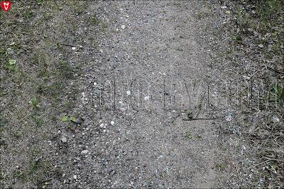 Металлическая руда на дороге