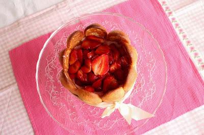 Receta de charlota de fresas