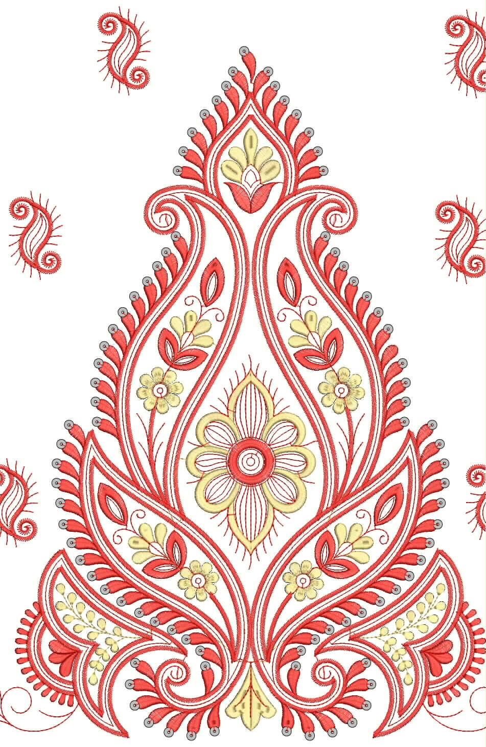 Embdesigntube Download 5 Mm Sequin Embroidery Design
