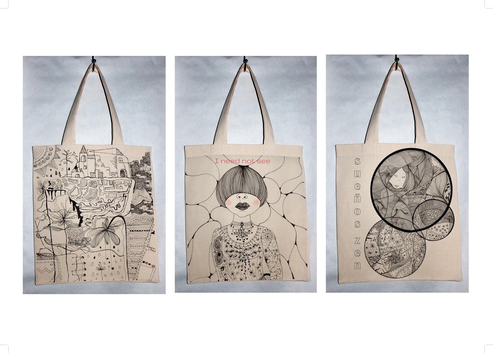 Mam s creativas lacarmina dise o y creatividad for Disenos de bolsos de tela