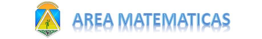 AREA MATEMATICAS