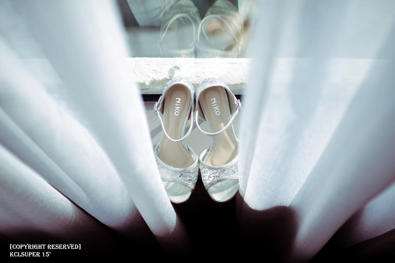 Wedding shoes Kuala Lumpur Actual Day Pre Wedding