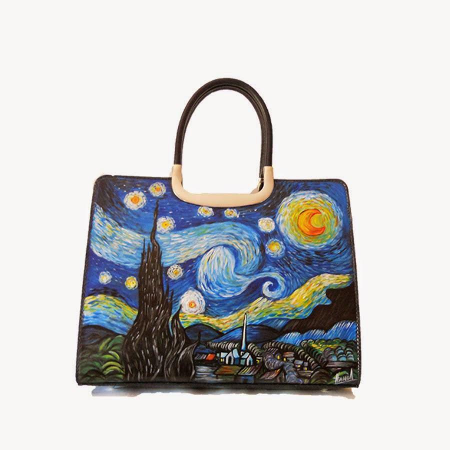 borse con dipinti famosi