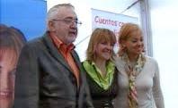 Los actores, padre e hija, apoyan al Partido Popular