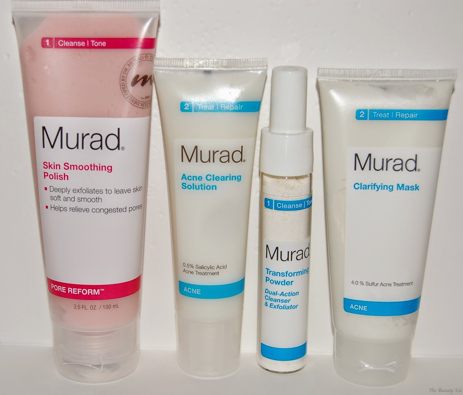 murad facial products