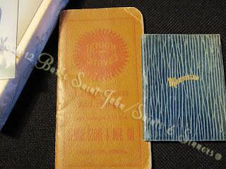 antique pocket ledgers