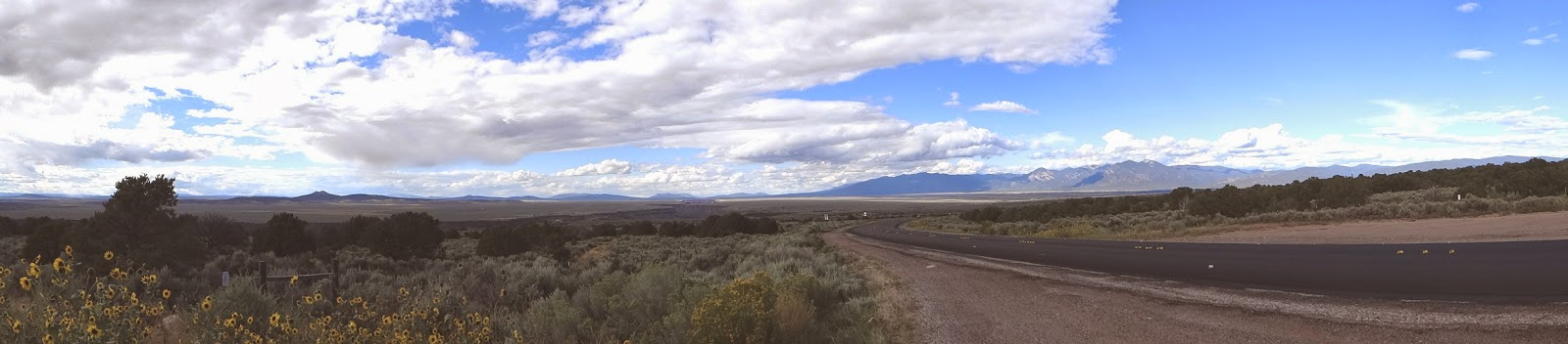 180 Panoramic of the Taos Valley