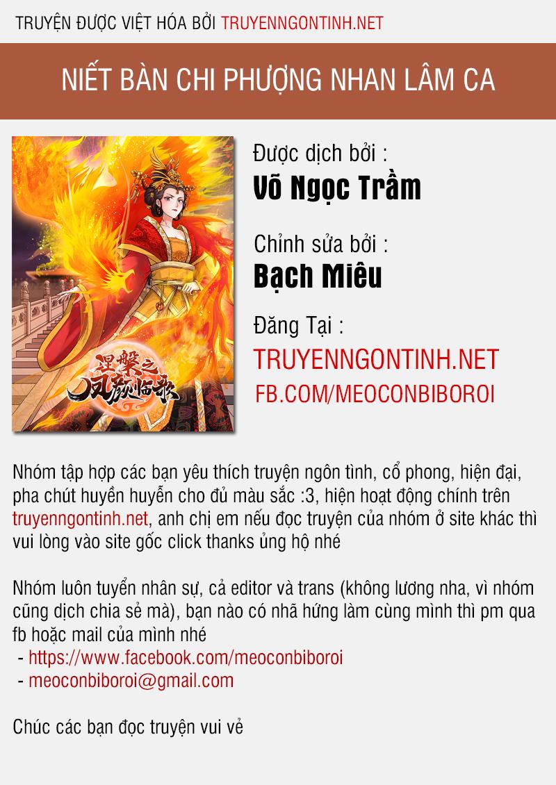 Niết Bàn Chi Phượng Nhan Lâm Ca chap 0 - Trang 1