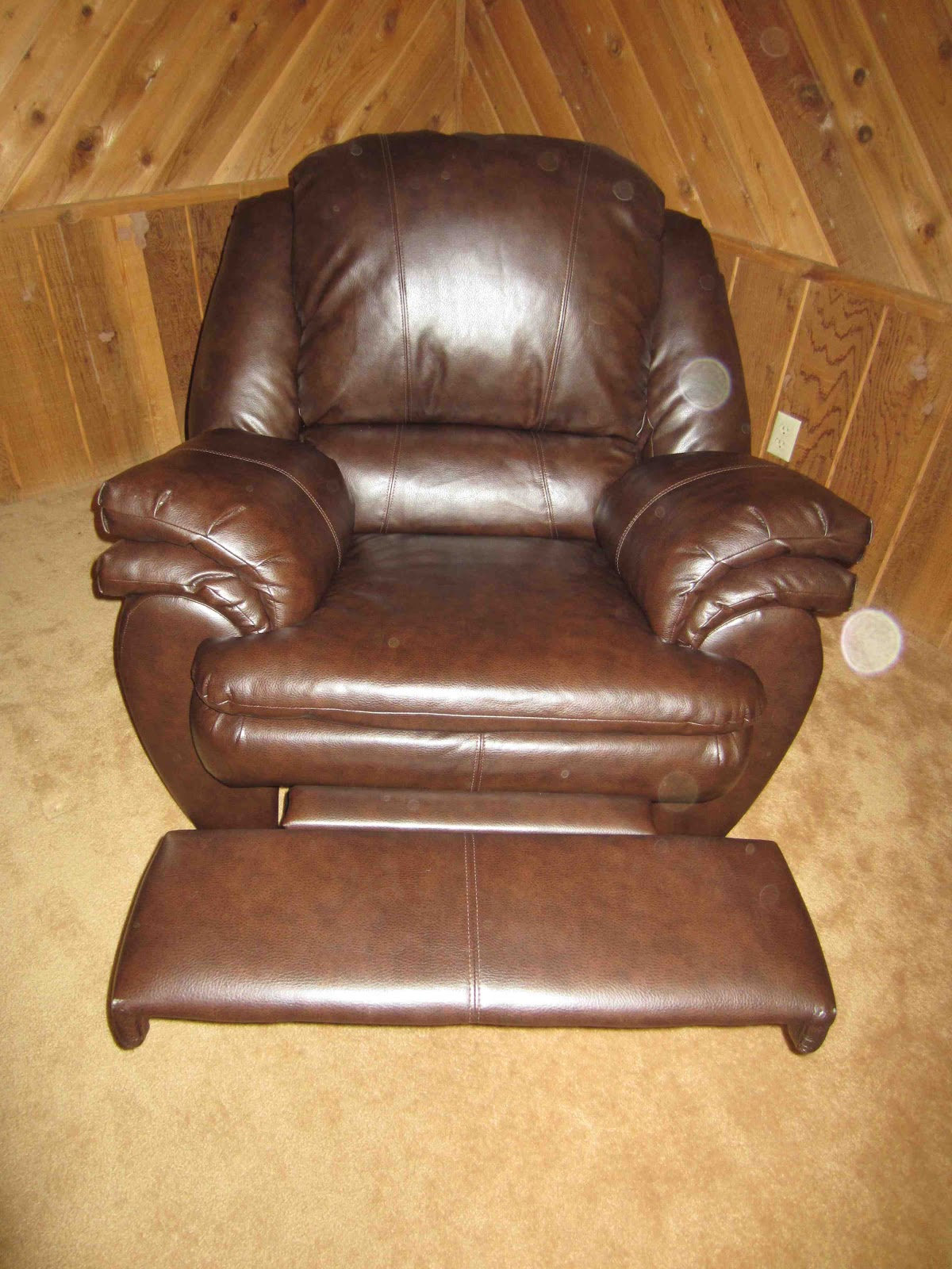 Faux Leather Chair Ashley Furniture