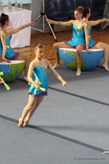 Rhythmic Gymnastics floor program clubs