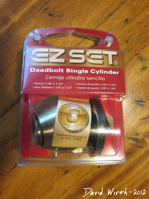 ez set deadbolt single cylinder, new ez set door lock, how to fix a front door lock