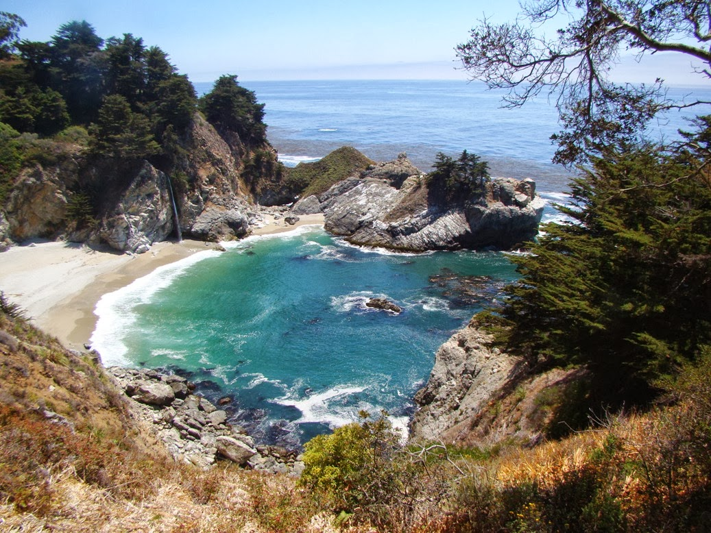 Geotripper Seeking Geology Along The Most Beautiful Shoreline In The World The Central