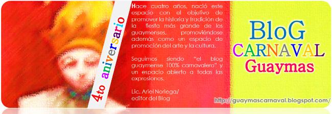 4to Aniversario Blog Carnaval Guaymas