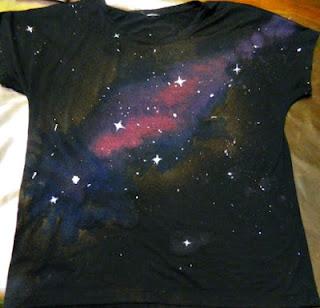 Reciclatex Cómo reciclar una camiseta negra en una camiseta galaxia