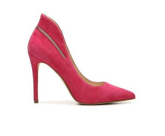 Enzo Angiolini Pink high heeled pumps