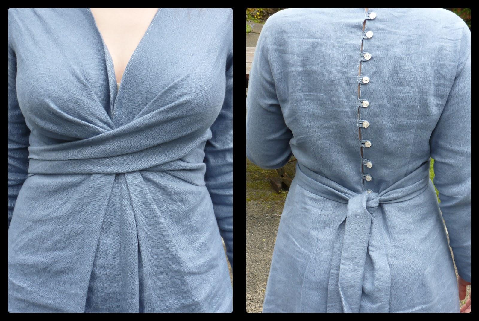 L na bulle la robe longue bleu gris for Faire don d une robe de mariée plus ancienne