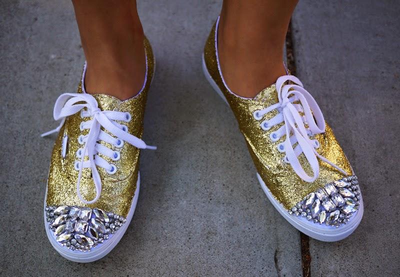 15 Fabulous DIY Shoe Makeovers