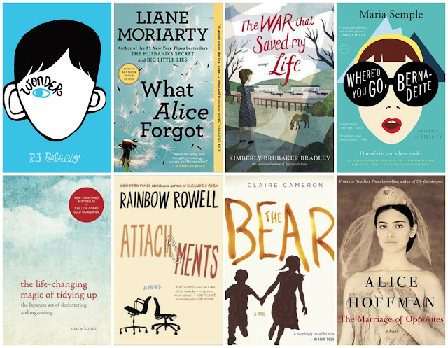 Best Books of 2015 via A Slice of Brie