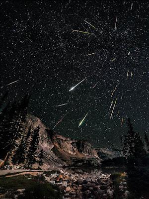 Lluvia de meteoritos Perceidas - Snowy Range Perseids Meteor Shower