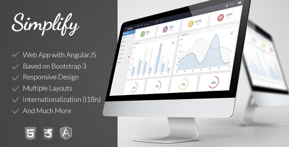 Responsive Admin App with AngularJS