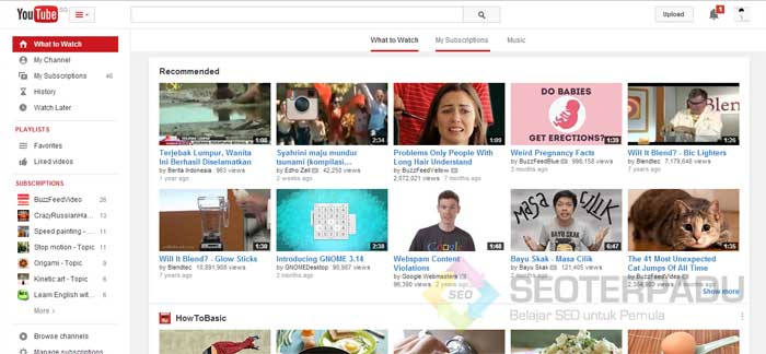 Pasang Iklan Gratis di YouTube 1