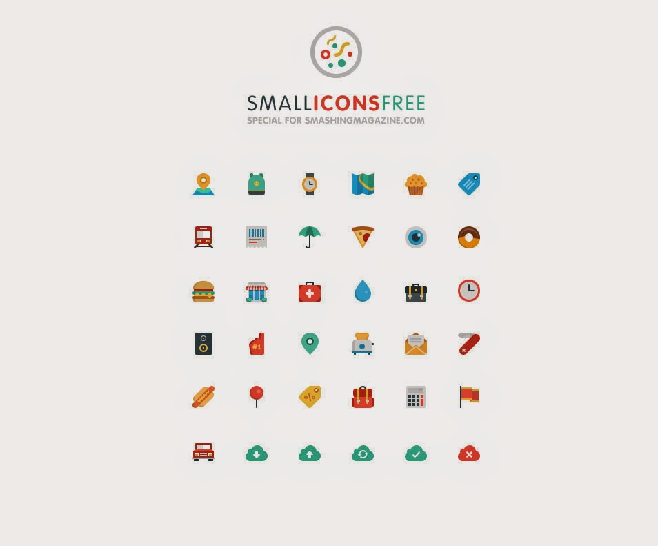 Smallicons Icon Set PSD