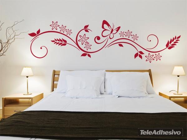 Estilo y hogar decorar con vinilos for Vinilos decorativos para recamaras