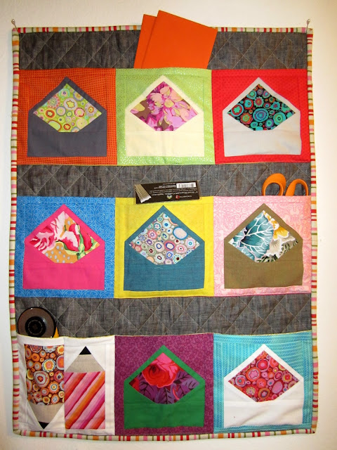 Zakka Along 2.0 Patchwork, Please - You've Got Mail Wall Pocket