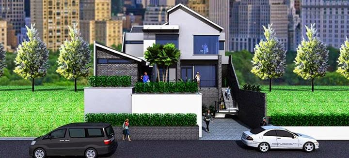 Driveway Model in  Driveway for Minimalist Home Design