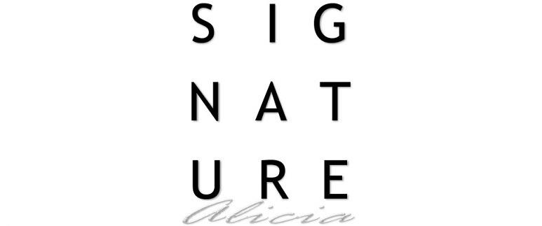 Signature Alicia