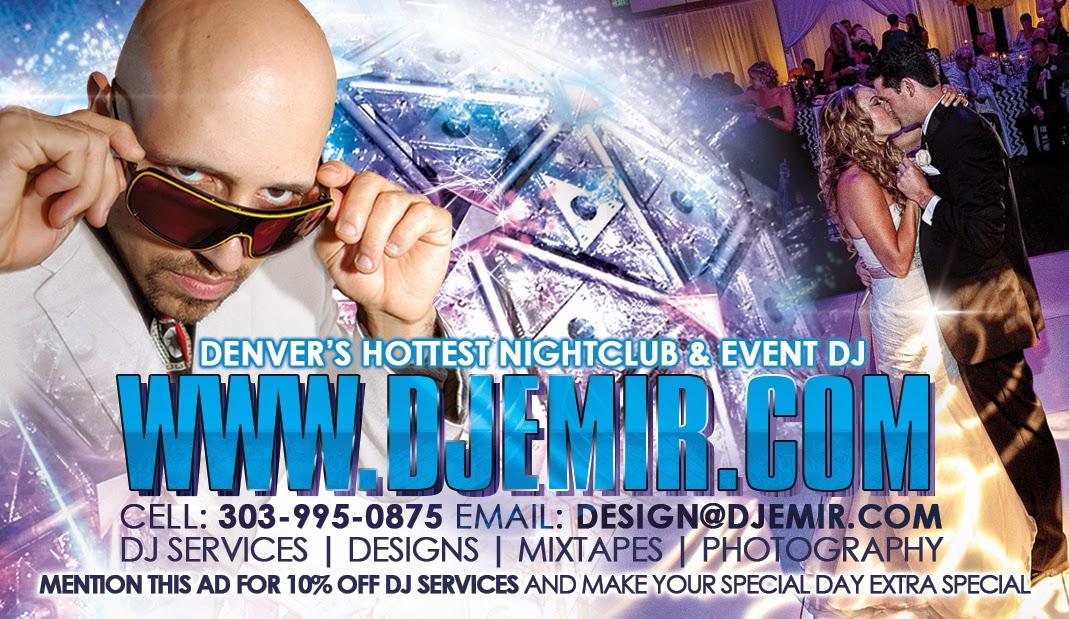 DJ Emir Denver's Best Nightclub and Wedding Event DJ