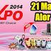 21 Mar 2014 (Fri) - 23 Mar 2014 (Sun) : PC EXPO 2014 - Kedah