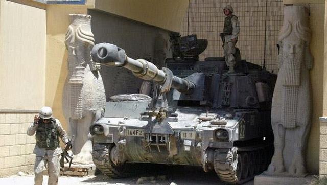 Ο αγώνας για τον έλεγχο της εξωγήινης κληρονομιάς του Ιράκ ένας λόγος που η ΗΠΑ ήθελε τον  έλεγχο  σε αυτές της χώρες,