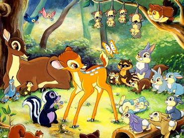 #4 Bambi Wallpaper
