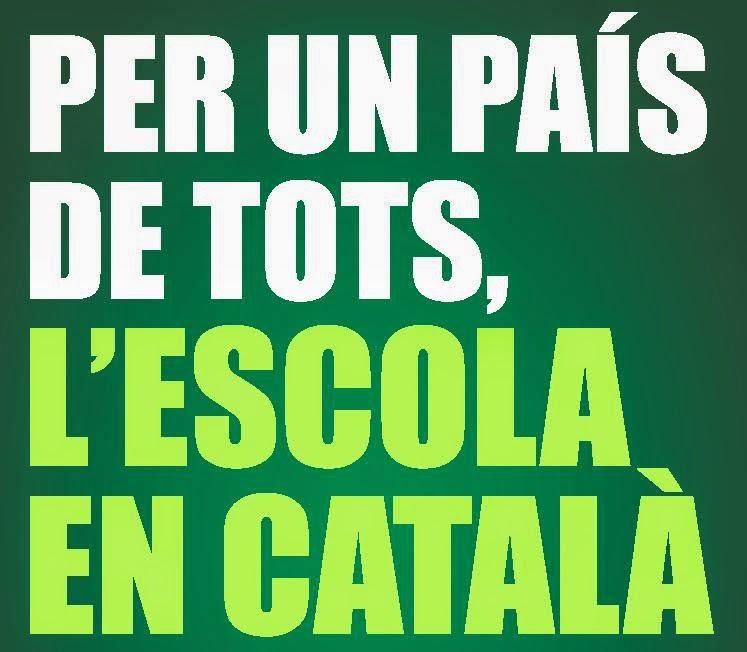 Per un país de tots, l'escola en català