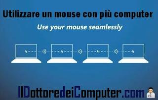 utilizzare più computer con un mouse