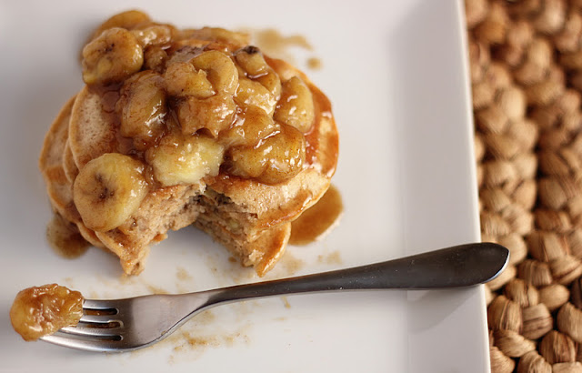 No Place Lyke Home: Recipe: Bananas Foster Pancakes