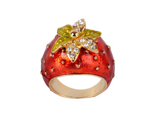 Cloisonne fashion ring