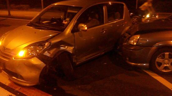 Kereta eyriqazz kemalangan di putrajaya