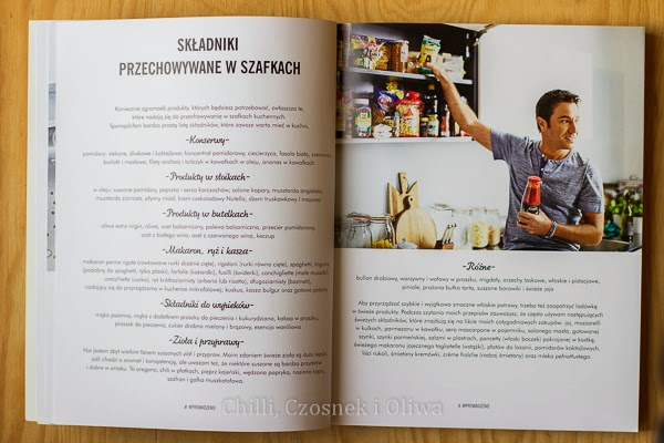 """Recenzja książki """"Gotowanie po włosku w 20 minut"""" Gino D'Acampo"""