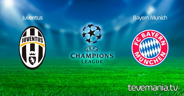 Juventus vs Bayern Munich en Vivo - Champions League