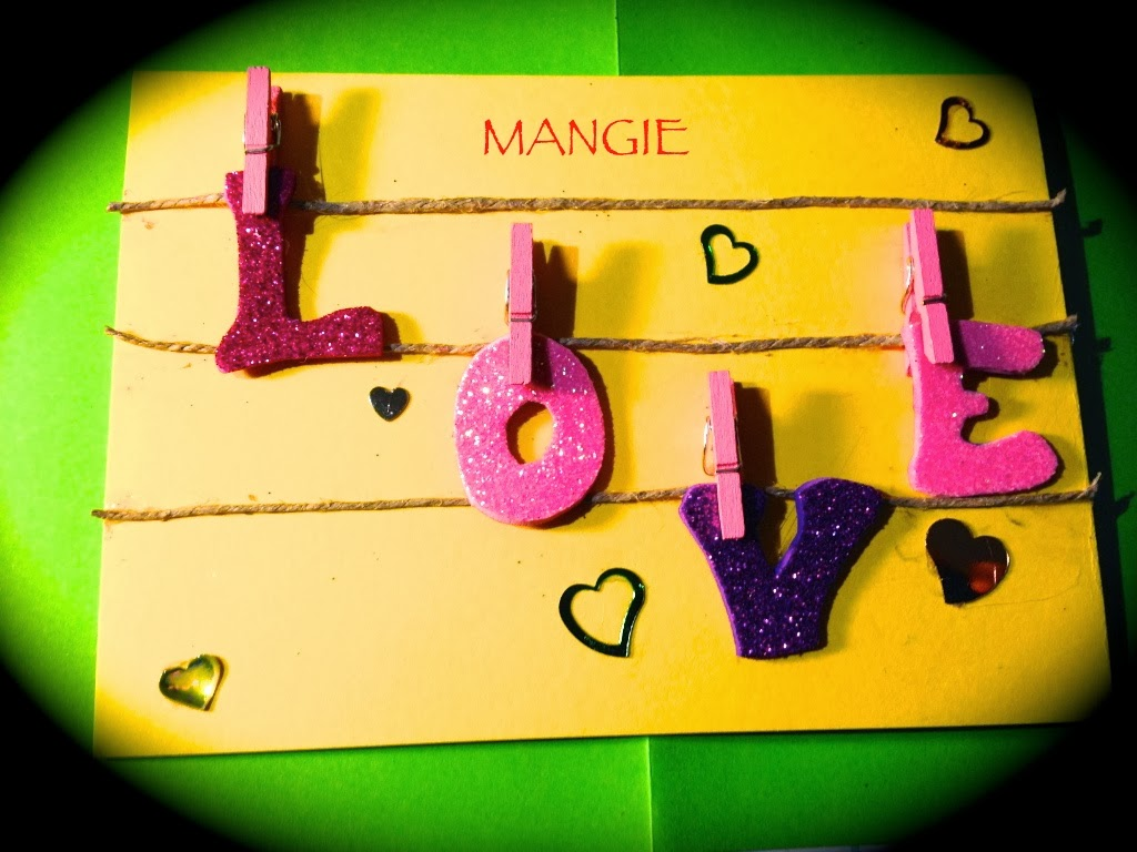 Tarjeta Love