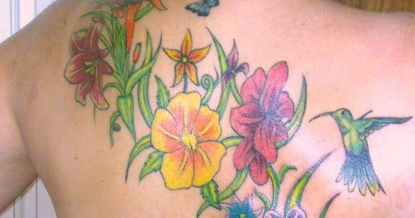 Tattoo ideas for girls colored garden tattoos ideas for for Garden tattoos designs
